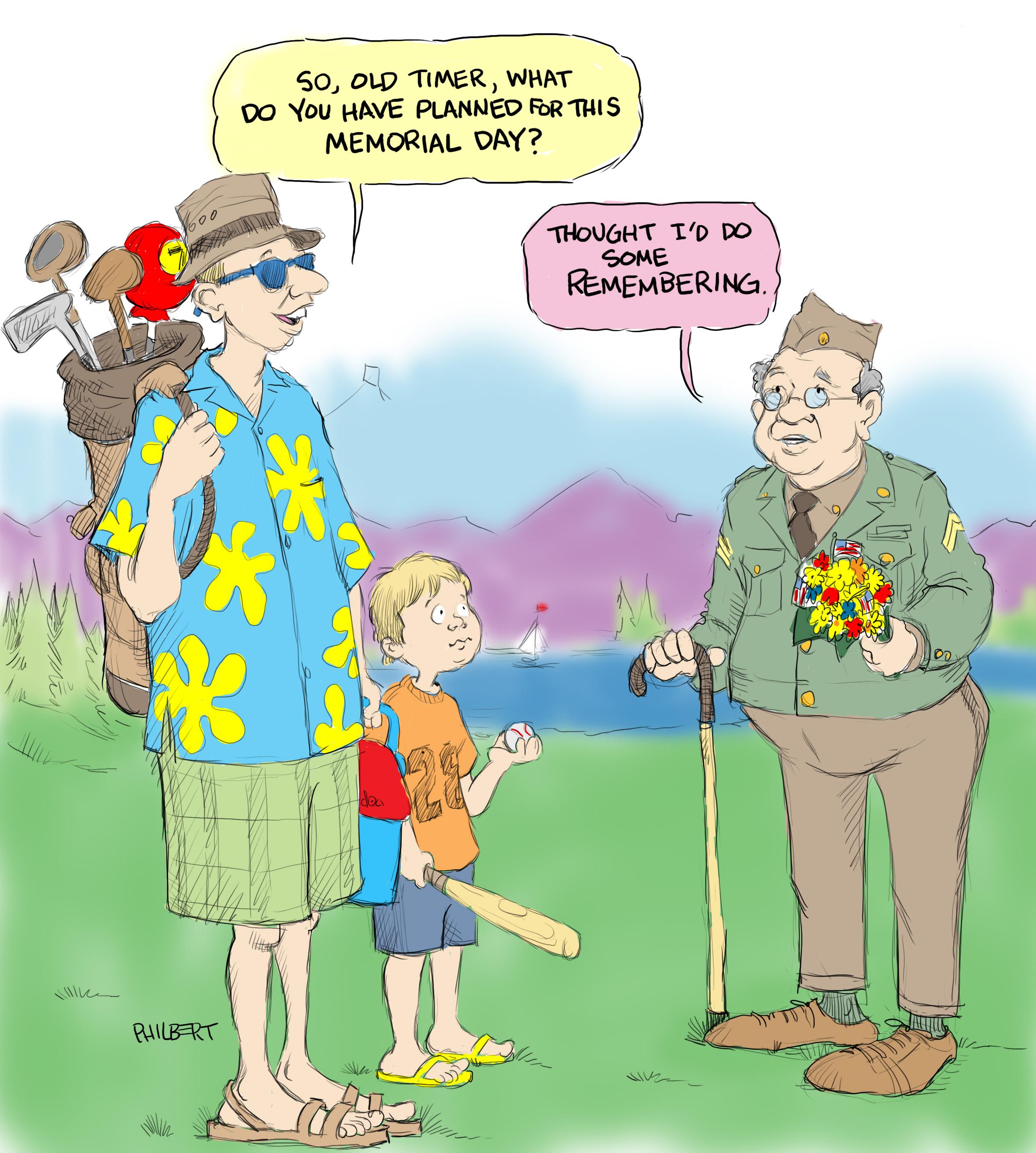 Sunday Funny: Happy Memorial Day – anewscafe.com