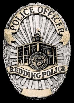 Redding Police Department badge