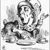 The Hatter as depicted by Sir John Tenniel