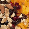 fruits and nuts for marathon bars