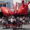 Six-time winner Dead Ant leaves Arcata Plaza legs up.
