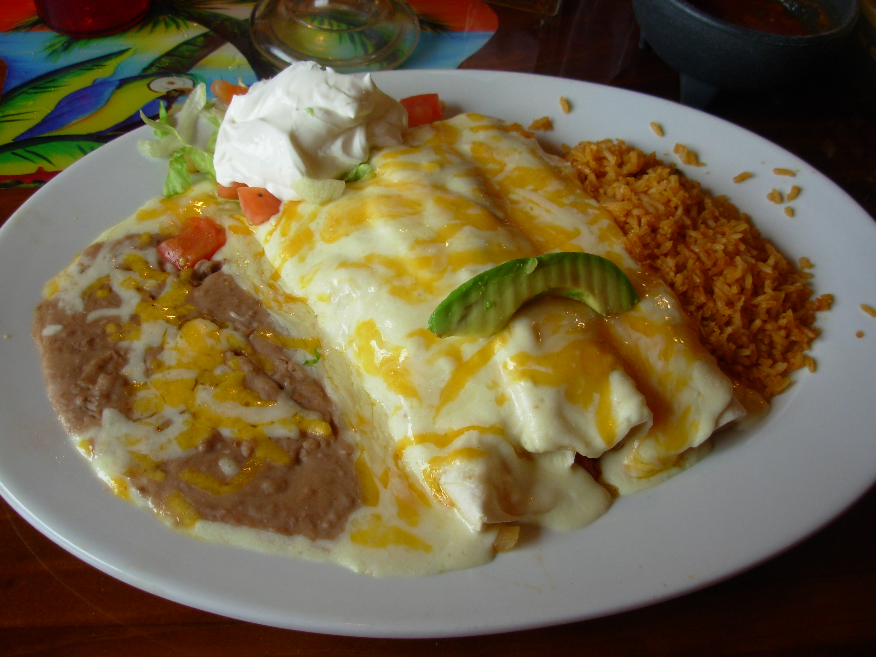 Menu Please: Mazatlan Grill – Well, cover me with ...