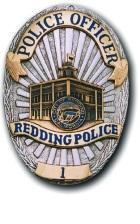 Redding Police Badge