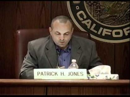 Former Redding Mayor Patrick Jones.