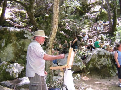 plein air Whiskeytown
