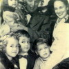 Gwen family Christmas photo 1953