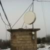 Com-Pair's microwave dish on Haney Mountain