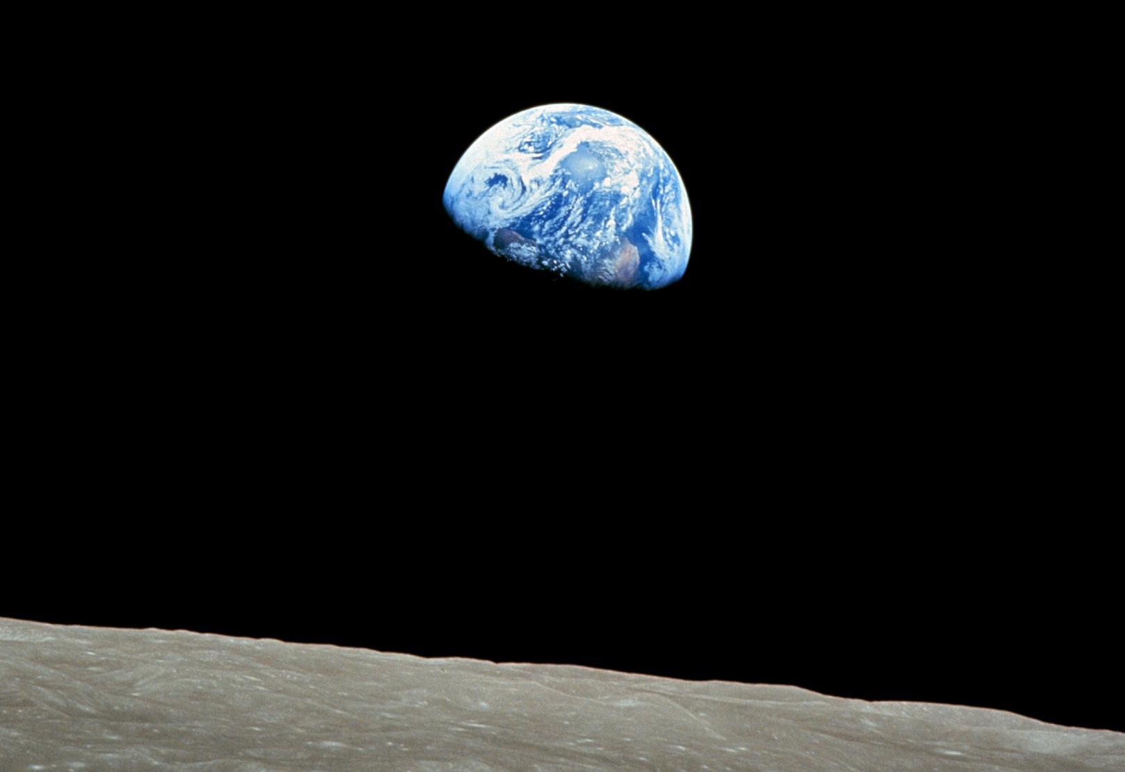 apollo 8 earthrise over moon - photo #10