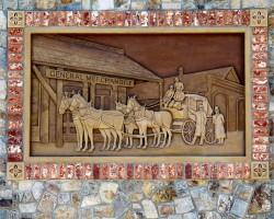 shasta wall mural