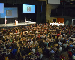 Some 692 turned out for Tuesday's State of the City address.