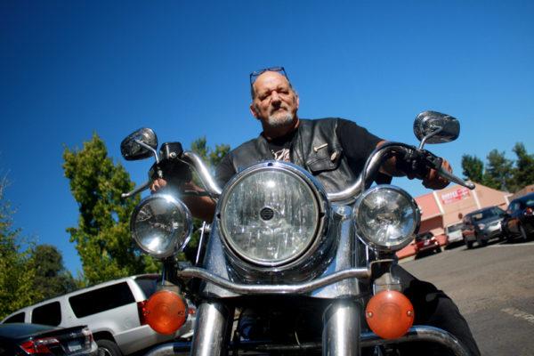 Richard Gierman and Harley.