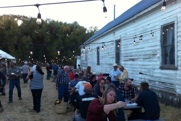 Fort Bidwell celebrates autumn and a fundraiser to preserve Town Hall. Photos by H.A. Silliman.