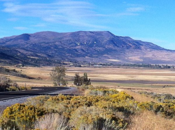 Fort Bidwell, under the Warner Mountains, is located at the top end of Surprise Valley in Modoc County. Photos by H.A. Silliman.