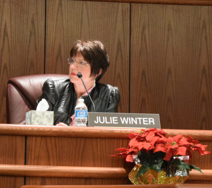 Councilwoman Julie Winter.