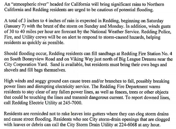 wind rain press release