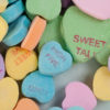 candy hearts Morguefile