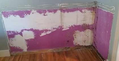 mold in doni's bedroom
