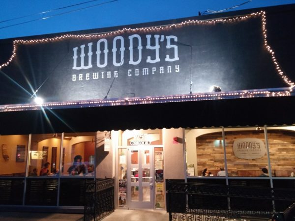 outside picture of woody's