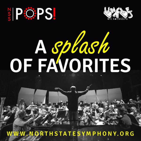"""The North State Symphony performs its """"A Splash of Favorites"""" concert this Friday, April 7 at Redding Civic Auditorium."""