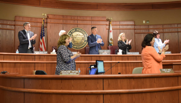 City Council members were unanimous in their praise of Starman's service.