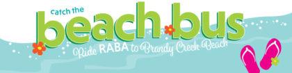 Beach Bus website banner
