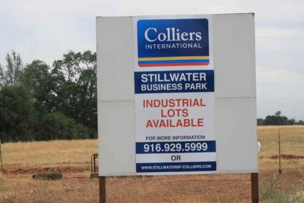 Industrial real estate is supposed to be hot in California, but Stillwater Business Park isn't selling.