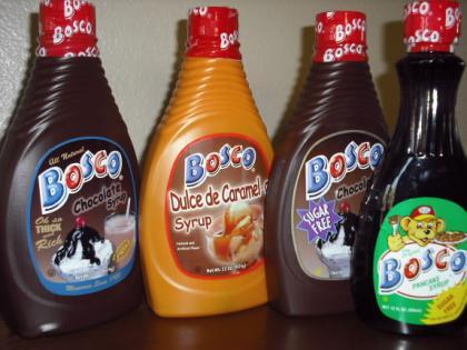 Bosco Chocolate Syrup Clown