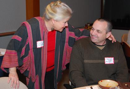 Susan Wilson and Patrick Jones