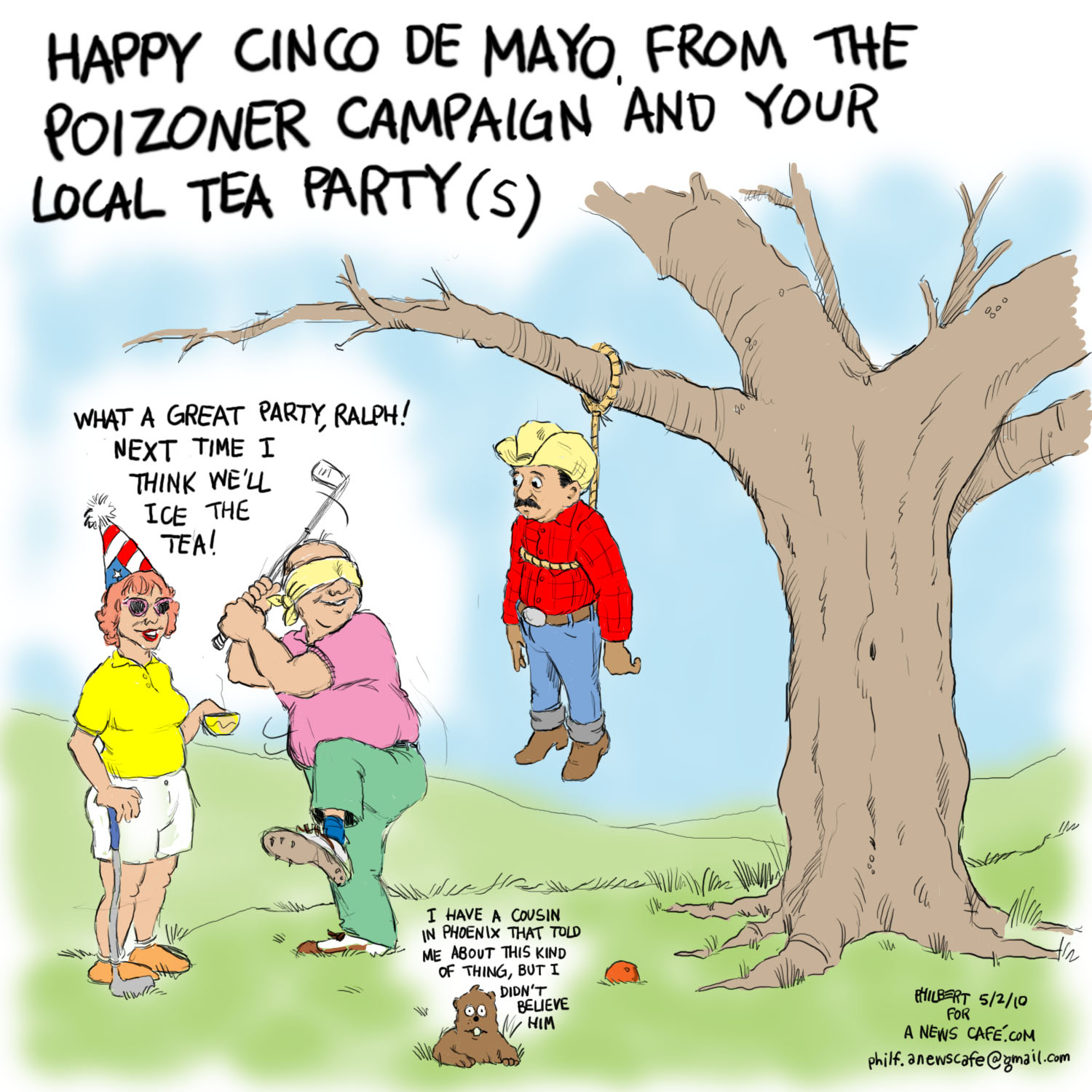 Mayo funny de cinco pictures