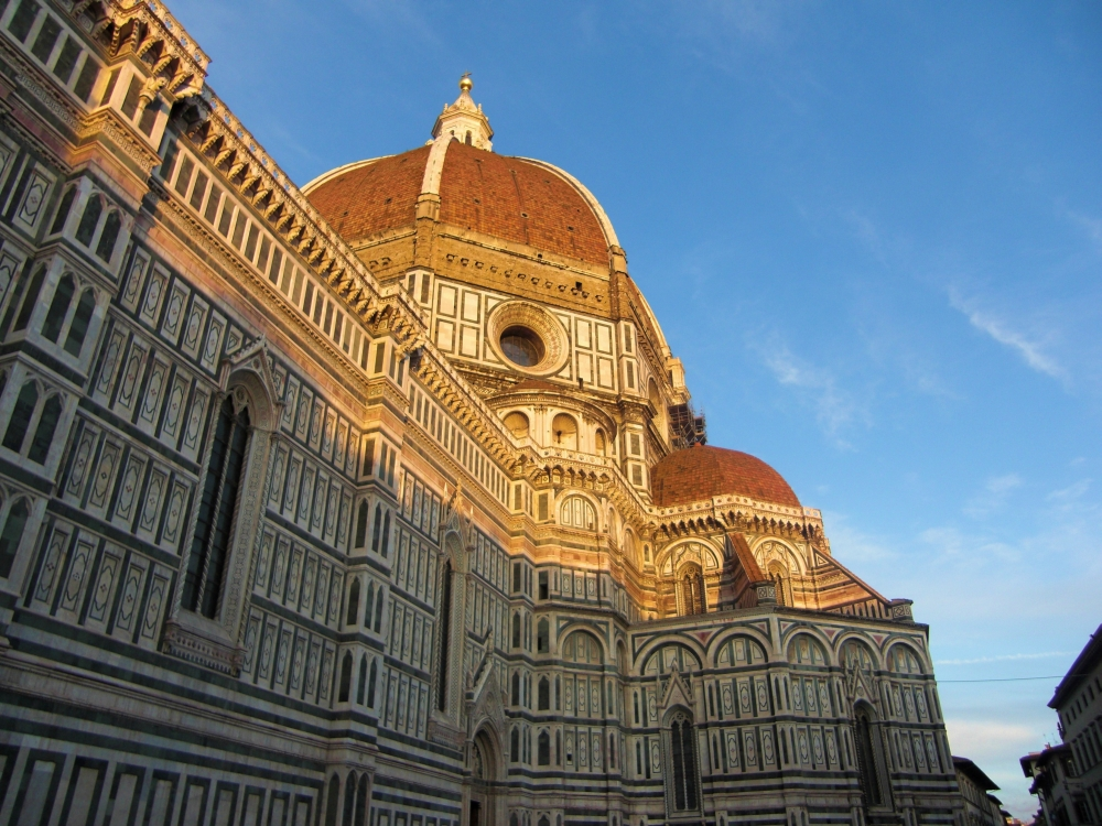 The Duomo in Florence was another highlight of Shelly's trip.