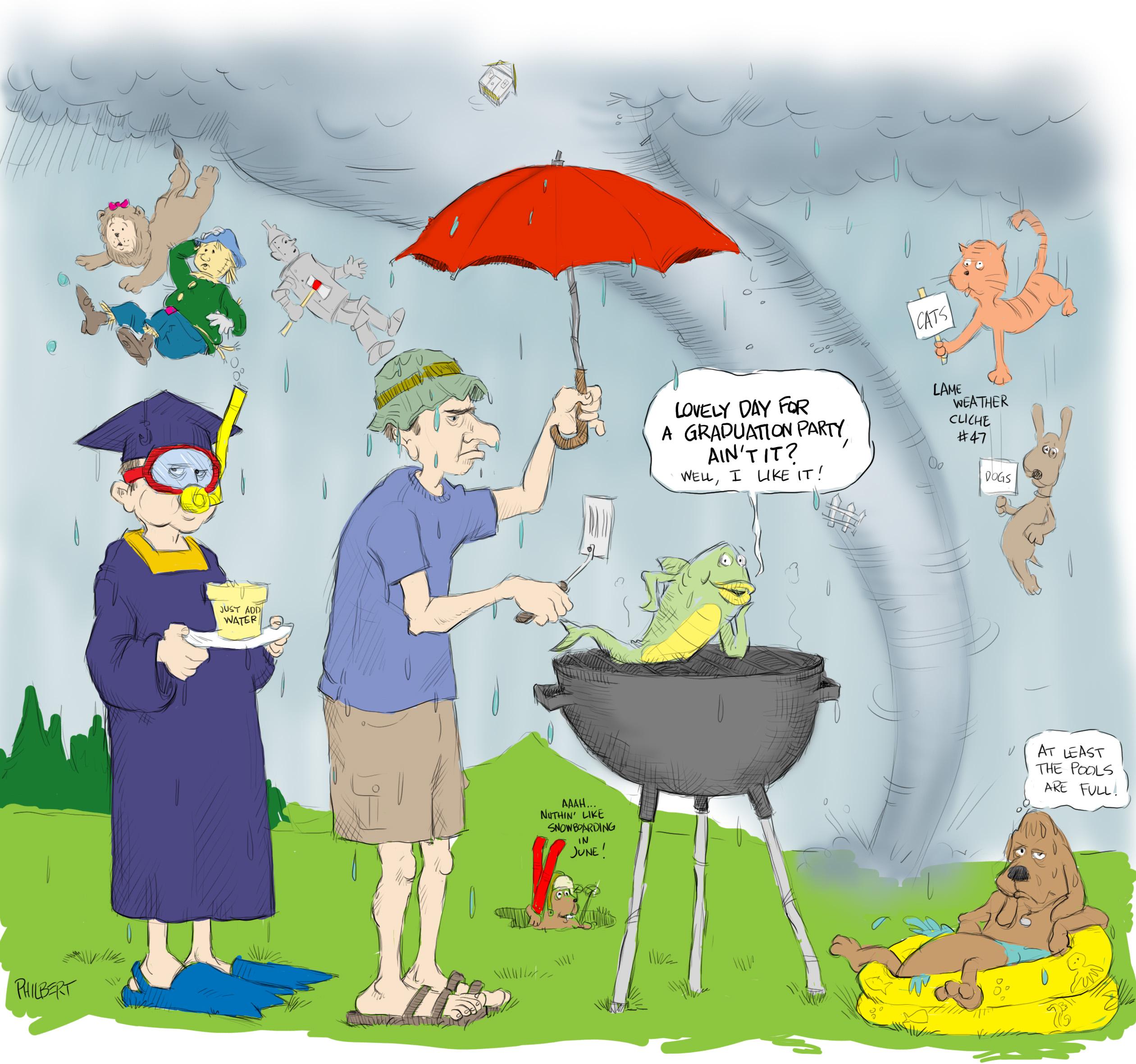 Sunday Funny: Rain, Rain … – anewscafe.com