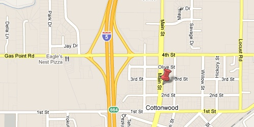 Cottonwood Community Library Map