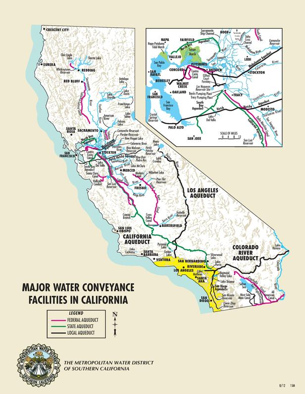 water supply in southern california California nevada river weather data and forecasts for california, nevada, and portions of southern or raw esp water supply forecast during the.