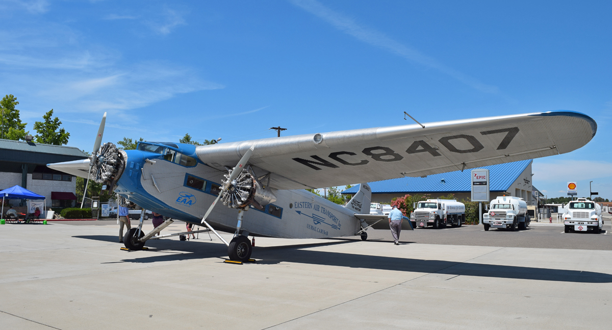 Ford tri motor offers flights back to the golden age of for Ford tri motor crash