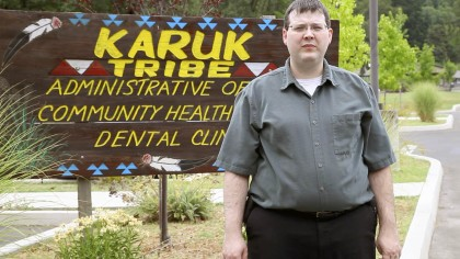 Karuk Tribe IT Director Eric Cutright was instrumental in bringing broadband internet to Orleans.