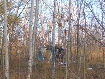 transient camp Morguefile