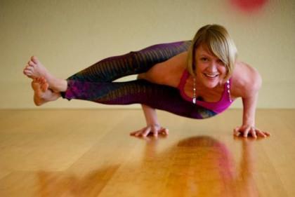 sarah yoga hands