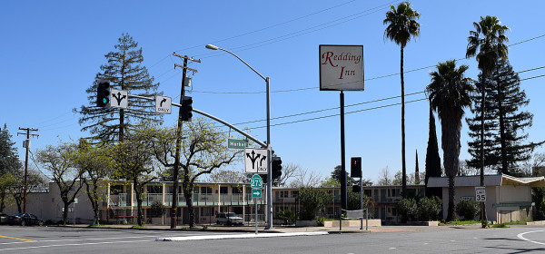 Settlement terms call for a host of improved security measures at the Redding Inn. Photo by Jon Lewis.
