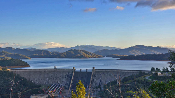 Despite a 'March Miracle' of rain that has Shasta Lake at 81 percent of capacity, Redding will continue its water conservation efforts. Photo by Skip Murphy.