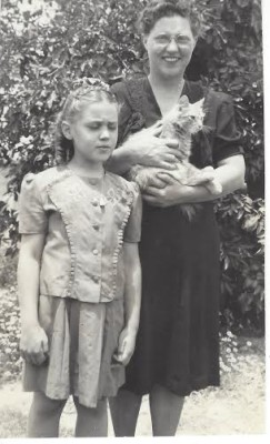 adrienne and her mother