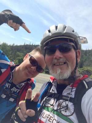 Cecina Hines and Jim Freemon will join thousands on the AIDS LifeCycle ride.