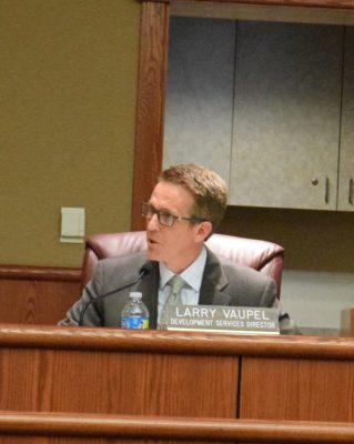 Larry Vaupel discusses Redding's short-term rental ordinance.