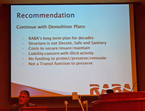 Staff recommendations.
