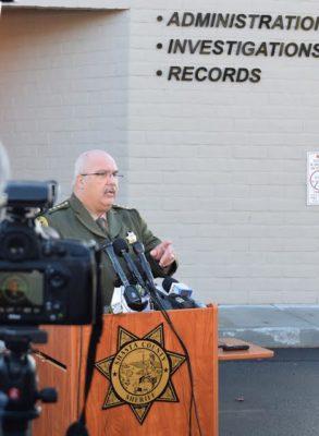 Shasta County Sheriff Tom Bosenko.
