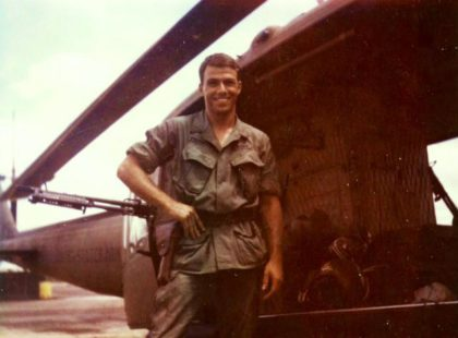 Chuck Prudhomme was a helicopter pilot in Vietnam from 1968-1969.