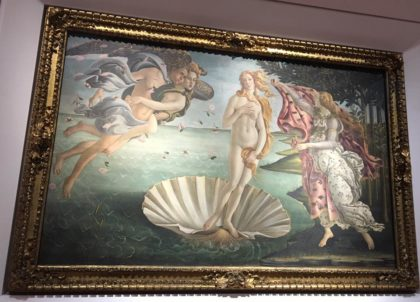Birth of Venus. Photo by Shelly Shively.