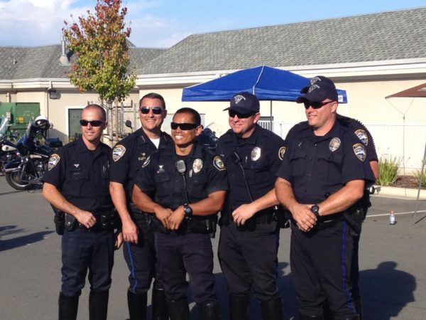 I asked Paoletti to send me pictures of himself, but he sent pictures of his RPD crew instead. He's in there somewhere.