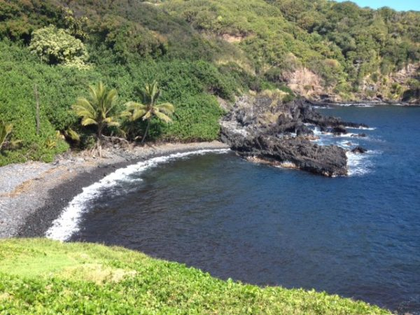 The almost uninhabited south side of Maui.