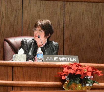 Councilwoman Julie Winter.