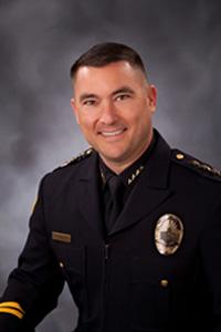 Redding Police Department Chief Robert Paoletti.